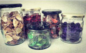 انواع ظرف بسته بندی جار شیشه ای