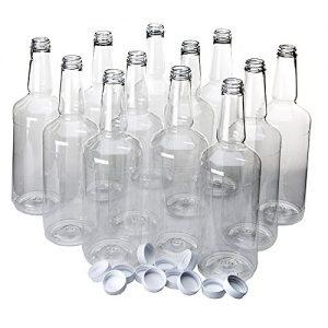 بطری شیشه ای ارزان قیمت و خام