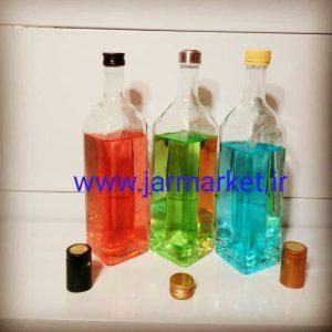 تولید کننده انواع بطری شیشه ای ساده