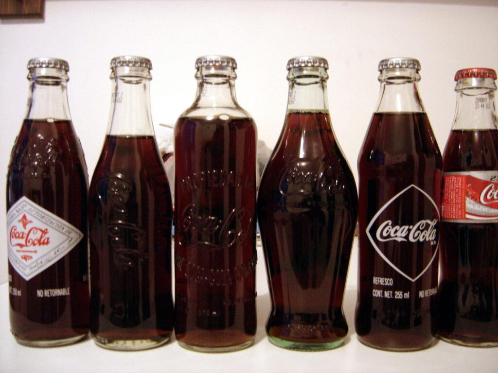 قیمت بطری شیشه ای یک لیتری