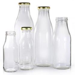 بطری شیشه ای نیم لیتری