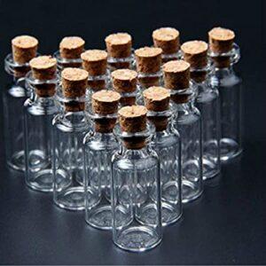 فروش عمده بطری شیشه ای ارزان قیمت با درب چوب پنبه