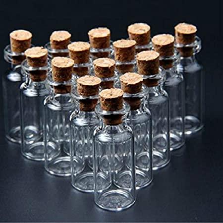 قیمت خرید بطری شیشه ای کوچک با درب چوب پنبه