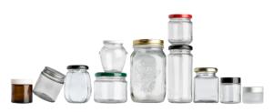 فروش عمده جار شیشه ای در انواع مختلف