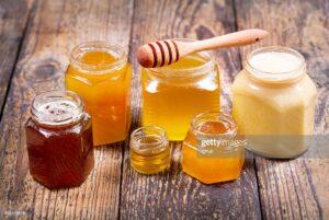 قیمت انواع شیشه ی عسل