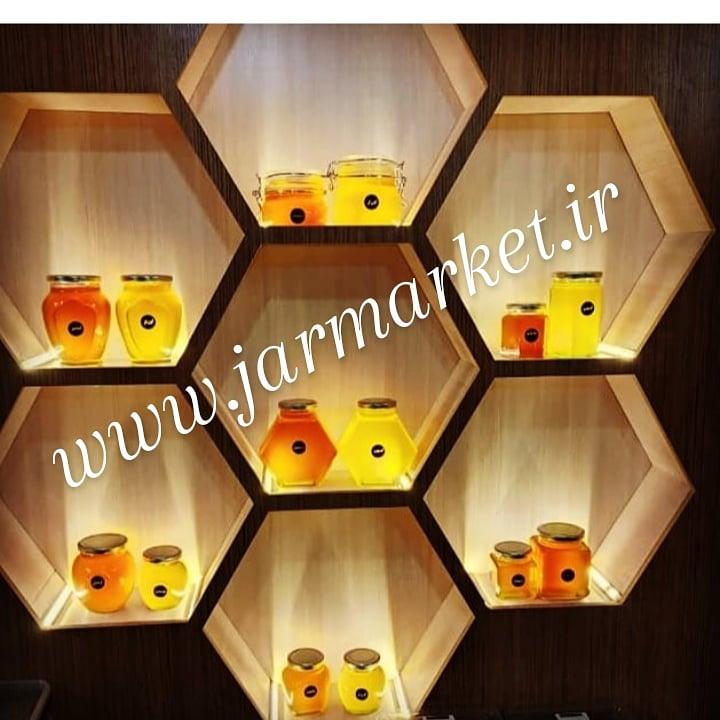 قیمت انواع جار شیشه ای و شیشه ی عسل با کیفیت بالا
