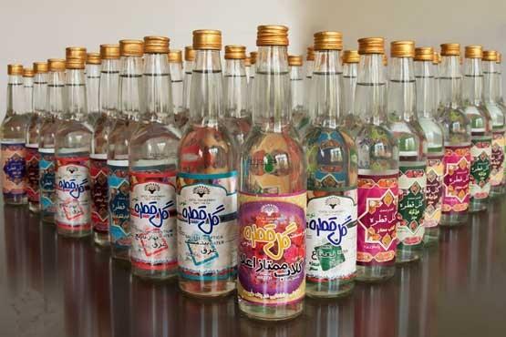 خرید انواع بطری شیشه ای عرقیات